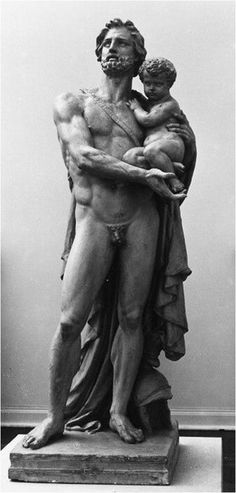 Hector and Astyanax, 1854. Jean-Baptiste Carpeaux. France, Valenciennes, Musee des Beaux Arts