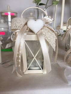 Risultati immagini per lanterna bomboniera matrimonio