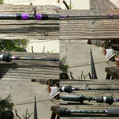 The new kid in my custom fishing rod arsenal. Information About Fish, Custom Fishing Rods, New Kids, Arsenal, Fishing Tackle