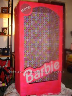 Coolest Homemade Barbie in a Box Halloween Costume ...This website is the Pinterest of birthday cakes