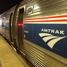 Week 44: First family trip. Taking Amtrak with the kids for an overnight vacation.