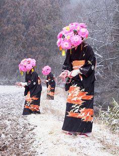 Yokai no Shima- photobook by Charles Freger Japanese Culture, Japanese Art, Japanese Folklore, Charles Freger, Magazine Japan, Photos Originales, Art Asiatique, Sendai, Miyagi