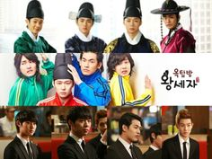 "The ""Rooftop Prince"" foursome - These guys were a riot, especially the three sidekicks :D"