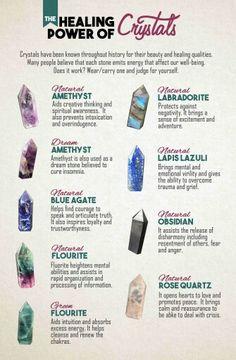 Healing properties