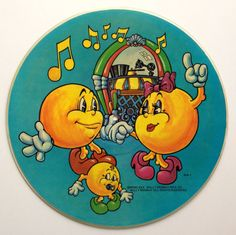 The Pac Man Album Limited Edition Picture Disc LP Vinyl Record Album, Kid Stuff Records - KPD 6012, 1980, Children's, Original Pressing
