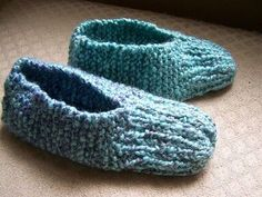 Ravelry: Aunt Maggie's Slippers pattern by Beverly A. Qualheim