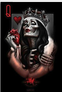 king queen skull tattoos - Google Search