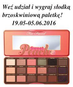 KosmetykoFanki: Wygraj brzoskwiniową paletkę od Too Face!
