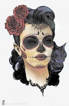 Catrina F - Retratos | Dibujando.net