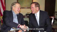 ADA25: Pres. George H.W. Bush & NOD Chairman Tom Ridge Commemorate the 2...