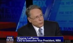 Desperate Wayne LaPierre Resorts To Fearmongering And Hunches (VIDEO)