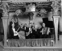 [Unidentified band; Tony's Jazz Band?]