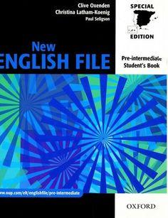2º INGLÉS. New English File Pre-intermediate. Student's book. http://encore.fama.us.es/iii/encore/record/C__Rb1994060?lang=spi