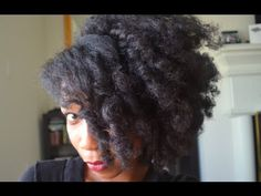"""A Romantic Sultry Hairstyle Big Fluffy Curly Hair """"Natural Hair"""""""