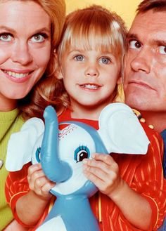 """Erin Murphy is best known for playing little Tabitha Stephens on the '60s supernatural TV series, """"Bewitched."""""""