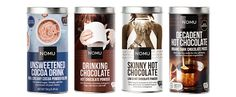 NEW! NOMU Unsweetened Hot Chocolate!