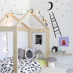 Full size of toddler house frame pin kids bedroom room design ideas gorgeous cozy nook bed