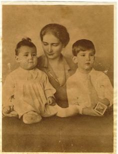 Mignon with two of her sons Ferdinand, Queen Victoria, Descendants, Romania, Edinburgh, Reign, Royals, Georgia, The Past