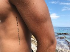la vie est un refrain, chantons ensemble ✨: Foto la vie est un . - la vie est un refrain, chantons ensemble ✨: Foto la vie est un refrain, chant - Small Tattoos Men, Small Chest Tattoos, Rib Tattoos For Guys, Leg Tattoo Men, Leg Tattoos, Body Art Tattoos, Sleeve Tattoos, Cross Rib Tattoos, Forearm Tattoo Quotes