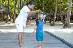 Ferien mit Kleinkindern im Soneva Fushi Resort auf den Malediven und den Kinderclub The Den. Ein Erfahrungsbericht über Urlaub mit Kindern.