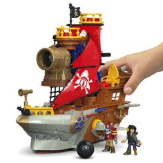 Imaginext® Shark Bite Pirate Ship - Shop Imaginext Kids' Toys | Fisher-Price