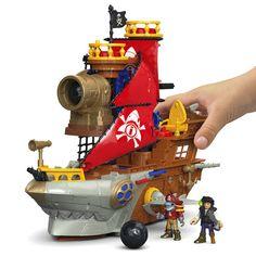 Imaginext® Shark Bite Pirate Ship - Shop Imaginext Kids' Toys | Fisher-Price