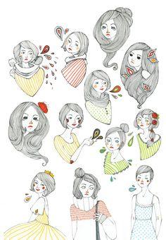 All my pretty ladies by rhuu.deviantart.com on @deviantART