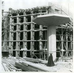 Queen Elizabeth Hall under construction in 1964