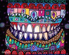 Teeth Surreal tooth Art Dentistry Anatomy Art Print Poster by Heather Galler Medical Illustration Anatomical Dental Dentist Art, Teeth Dentist, Illustrations Médicales, Dental Anatomy, Dental Office Decor, Office Art, Dental Life, Dental Humor, Dental Hygienist