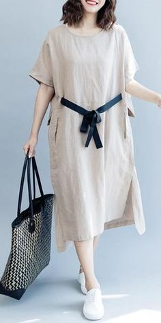 trendy ideas for fashion clothes summer dress patterns Trendy Dresses, Casual Dresses For Women, Casual Outfits, Fashion Outfits, Clothes For Women, Casual Clothes, Dress Fashion, Fashion Clothes, Fall Outfits