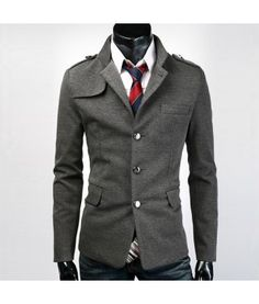 Modern Slim fit single breasted jacket!