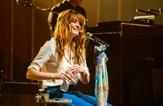 Florence in the recording studio