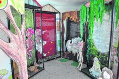 Botucatu tem exposição de painéis 'Vamos caçar o saci' - Jornal da Cidade