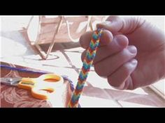 Craft Projects for Kids : How to Make Braided Bracelets