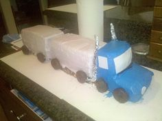 Pics Photos Tractor Trailer Truck Birthday Pinterest