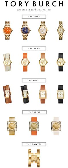 the new Tory Burch watch collection