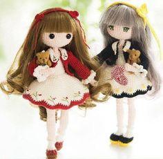 Вязаная кукла Мора крючком. Мастер-класс по вязанию куклы амигуруми.