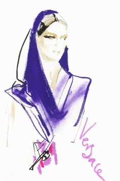 Versace by David Downton
