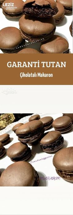 Garanti Tutan Çikolatalı Makaron - Leziz Yemeklerim - galletas - Las recetas más prácticas y fáciles Macaron Nutella, Mousse Mascarpone, Cake Recipes, Dessert Recipes, Food Words, Dessert Bread, Turkish Recipes, Chocolate, Crack Crackers