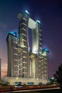 Shreeparti Gardens located at Parel, Mumbai could be tallest residential tower in Mumbai.