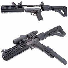 kwa magpul pts fpg gas gun airsoft atlanta guns pinterest