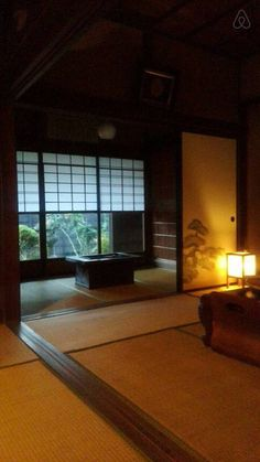 100 years old historic mansion. Japanese Mansion, Japanese House, Room Pictures, Renting A House, Folk, Rooms, Traditional, Mansions, Travel