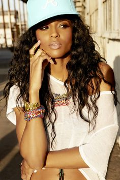 Ciara. She can dance. She has a unique style: urban chic. And she is holding it down in the music industry. Yea, she's my #girlcrush