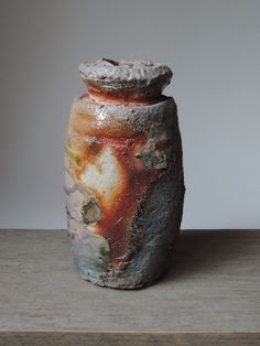 Anagama Fired Vessel Ember Buried Local by MitchIburgCeramics