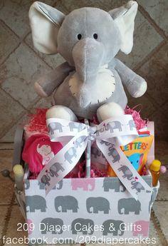 Youtube Elephant Diaper Cake