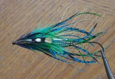 Russian Intruder Tube Fly -Turquoise Fishing Lures, Fly Fishing, Steelhead Flies, Salmon Flies, Montages, Fly Tying, Tube, Turquoise, Bird