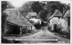 This is first photograph taken of Cockington Forge, Torquay, 1860 (© All Rights Reserved by DAVID ROBINS / Panoramio)