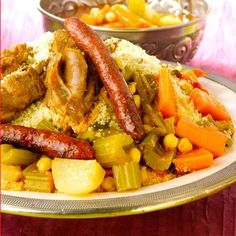 Découvrez la recette Couscous royal marocain sur cuisineactuelle.fr.