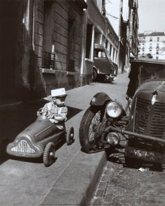 Bolides, Paris, c.1956  Robert Doisneau