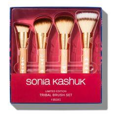It Cosmetics Brushes, Makeup Cosmetics, Tribal Makeup, Stippling Brush, Day Makeup Looks, Sonia Kashuk, Tribal Patterns, Foundation Brush, Makeup Brush Set